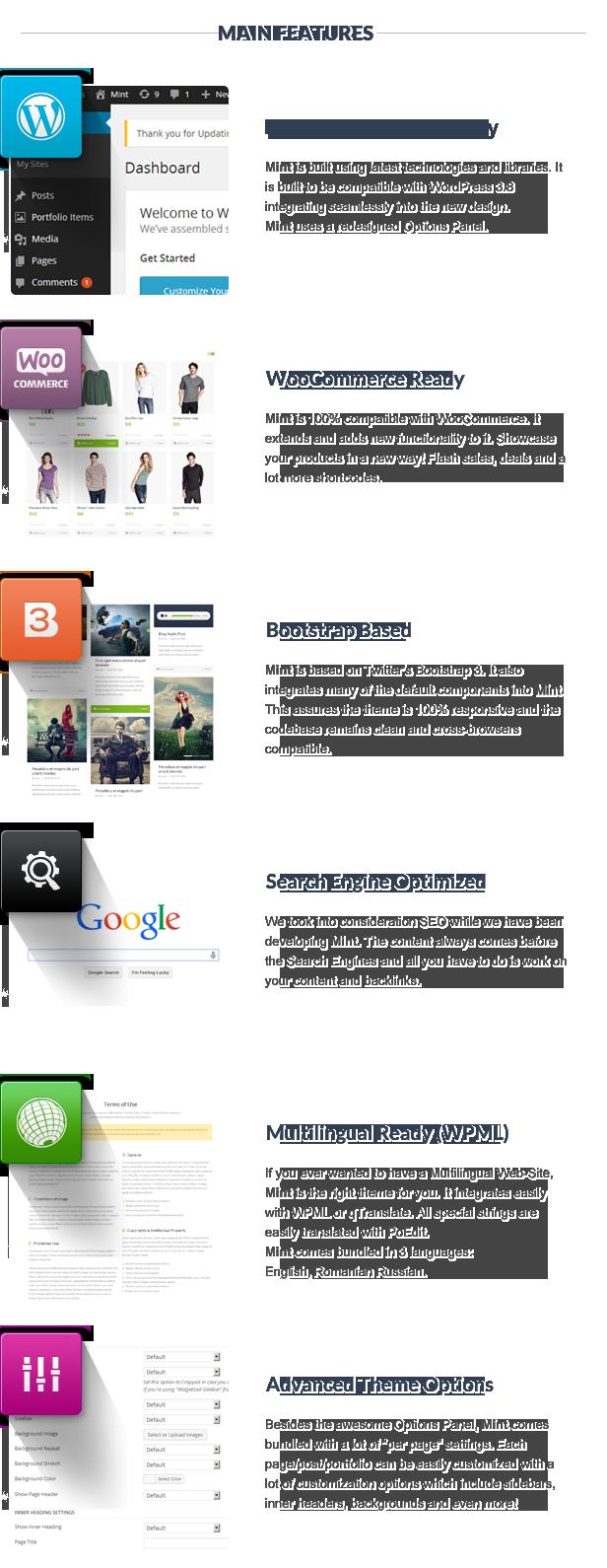 Mint - Responsive Multi-Purpose WordPress Theme - 15