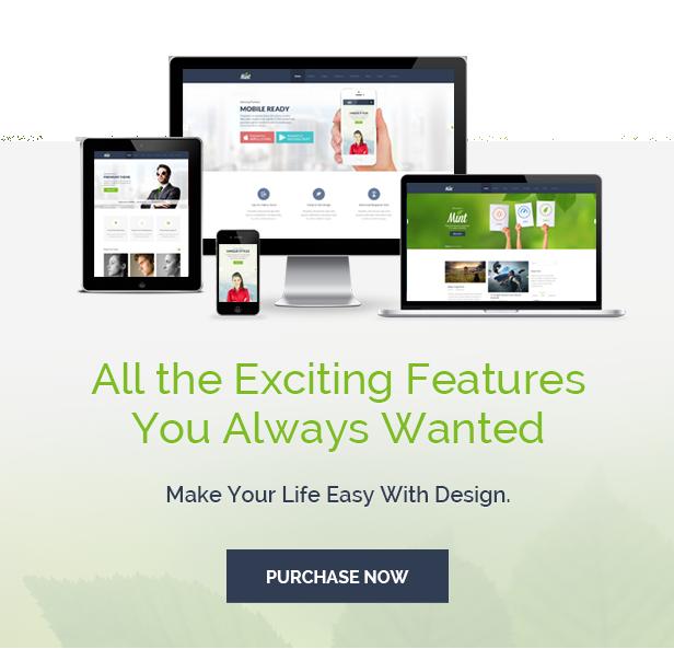 Mint - Responsive Multi-Purpose WordPress Theme - 20