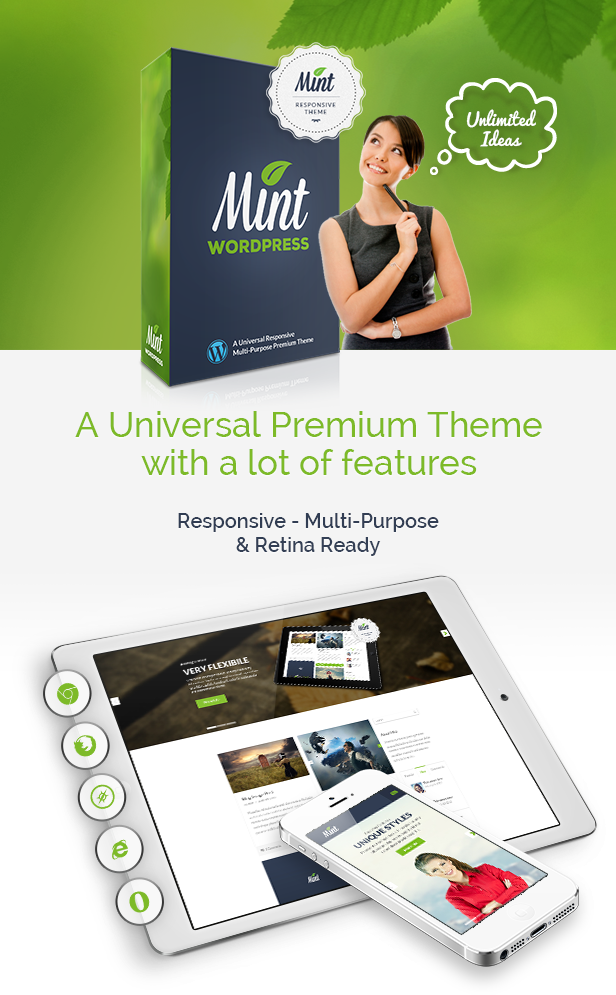 Mint - Responsive Multi-Purpose WordPress Theme - 13