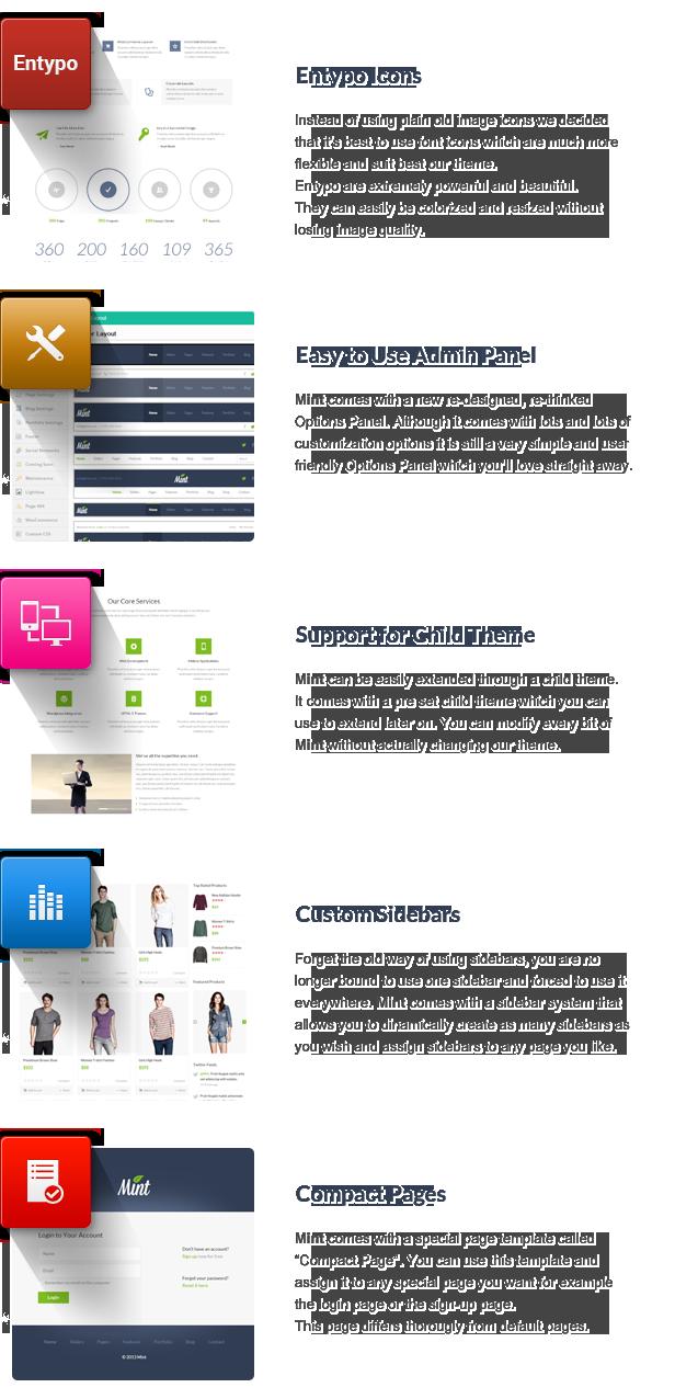 Mint - Responsive Multi-Purpose WordPress Theme - 16