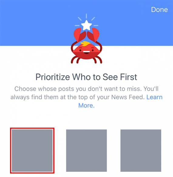 facebook algorithm,prioritize who to see first,facebook